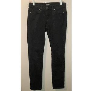 Ann Taylor Loft Black Modern Fit Skinny Jean
